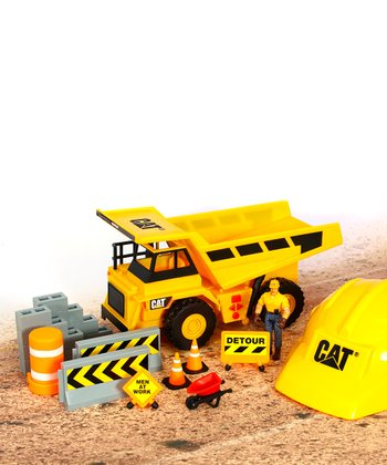 CAT Dump Truck Play Set