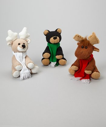 Holiday Plush Toy Set