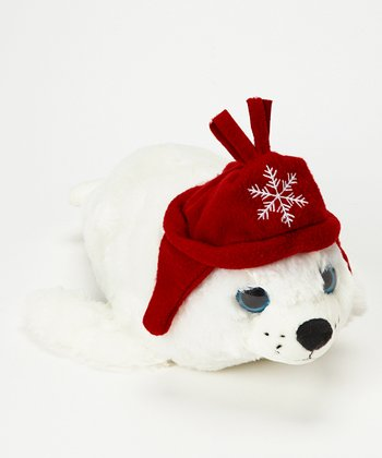 Winter Funz Harp Seal Plush Toy