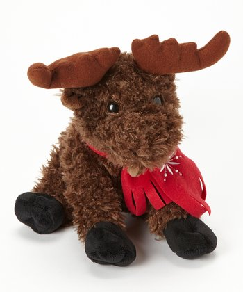 Winter Funz Moose Plush Toy