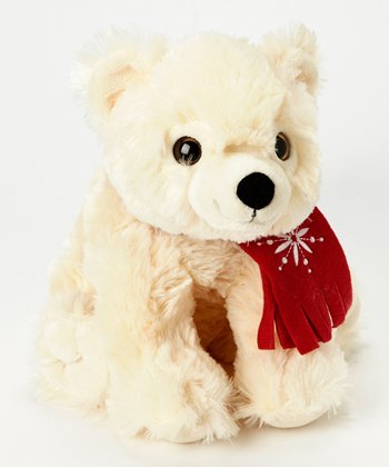Winter Funz Polar Bear Plush Toy