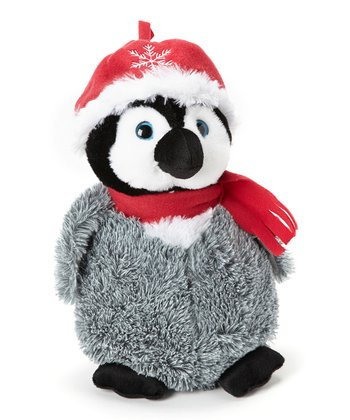 Red Hat Penguin Chick Plush Toy
