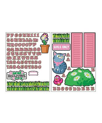 Pink Playhouse Decal Set