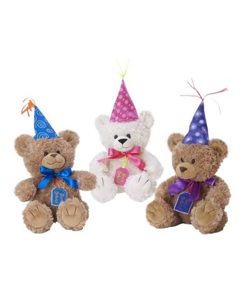 Happy Birthday Beba Bear Plush Toy Set