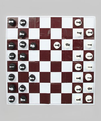 Oversize Chess/Checkers Set