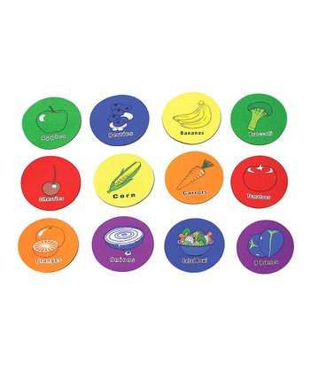 Fruit & Vegetable Spot Marker Set