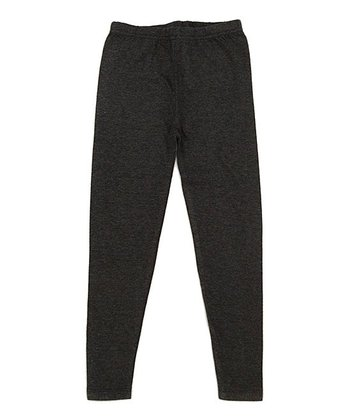 Charcoal Organic Skinny Leggings - Infant