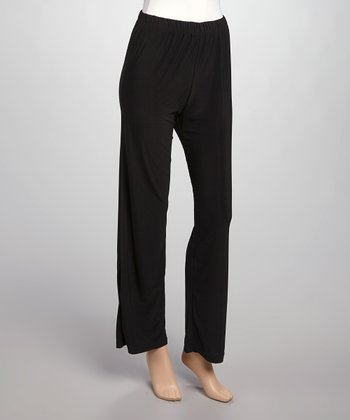 Black Lounge Pants - Women & Plus