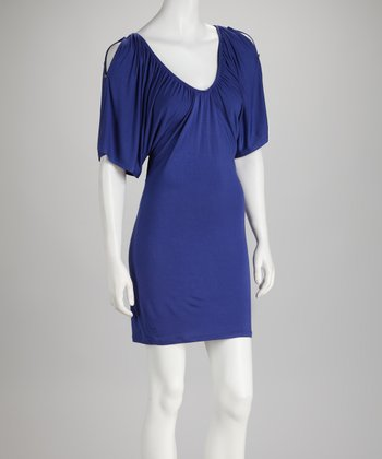 Soul Revival Cobalt Cutout Kelly Dress