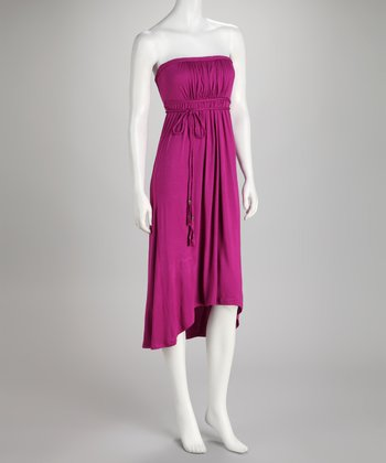 Soul Revival Fuchsia Faith Strapless Dress