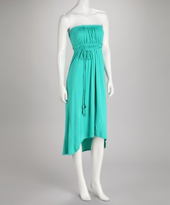 Soul Revival Mint Faith Strapless Dress