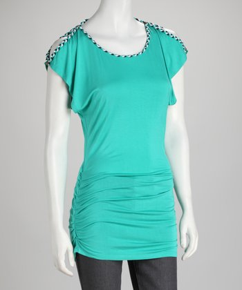 Soul Revival Mint Rocky Tunic