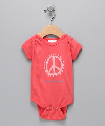 Rose Peace Sign Bodysuit - Infant