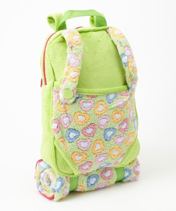 Green Doll Backpack & Sleeping Bag