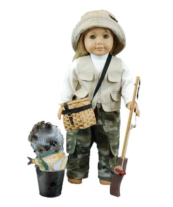 Fishing Adventure Doll Outfit