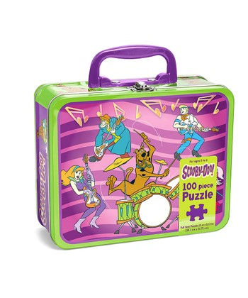 Purple & Green Scooby-Doo Lunchbox Puzzle