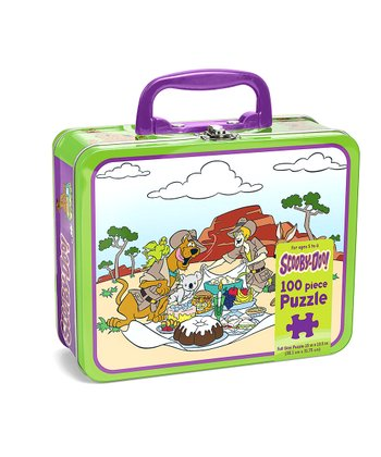 Green & White Scooby-Doo Lunchbox Puzzle