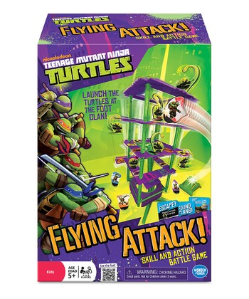 Teenage Mutant Ninja Turtles Flying Attack Game