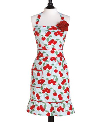 Kitchen Cherry Courtney Apron - Women