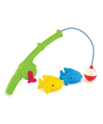 Gone Fishing Bath Toy Set