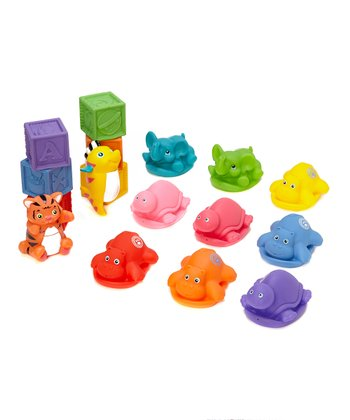 Silly Toys Bath Set