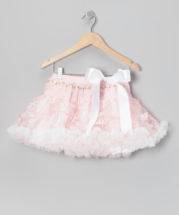 Light Pink Lacy Lady Pettiskirt