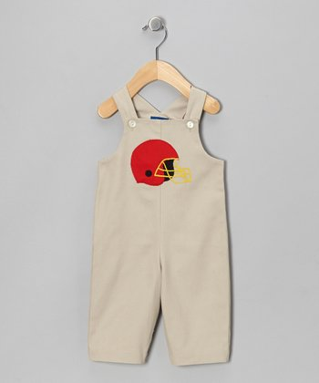 Gray Helmet Overalls - Infant & Toddler