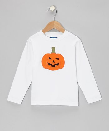 White Pumpkin Tee - Infant, Toddler & Boys