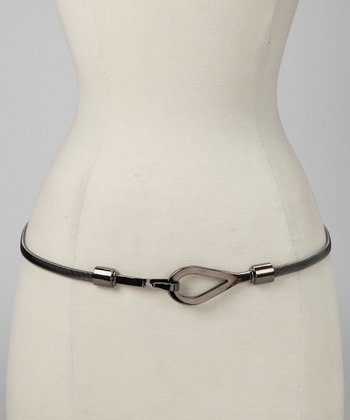 Gunmetal Hook Belt