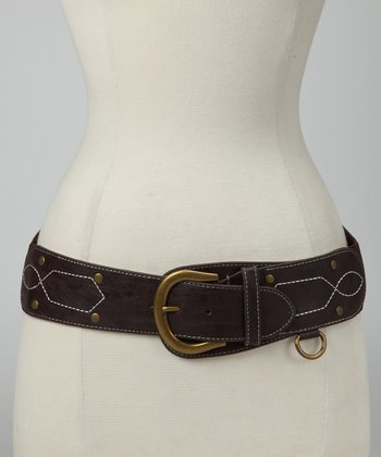Brown Equestrian Stretch Belt