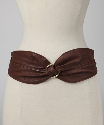 Brown Knot Belt
