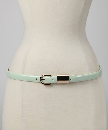 Sea Foam Patent Belt