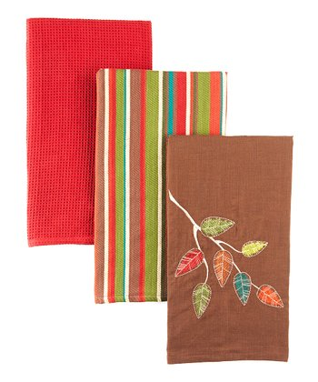 Autumn Woods Dish Towel Set