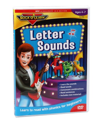 New Edition Letter Sounds DVD
