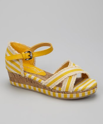 Yellow K-Antigua Espadrille
