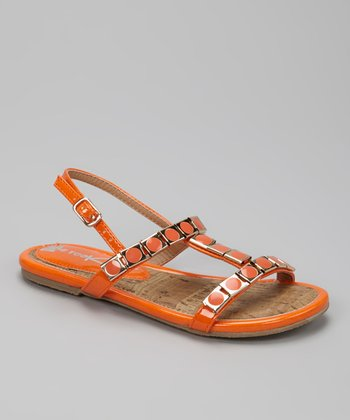 Orange K-Zara Sandal