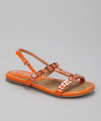 Orange K-Zara Sandal