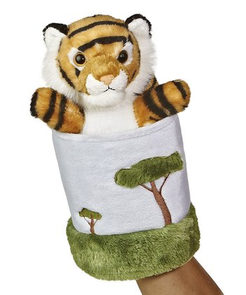 Tiger & Tree Hand Puppet