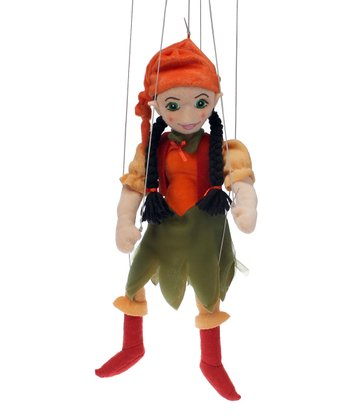 Woodland Elf Girl Marionette