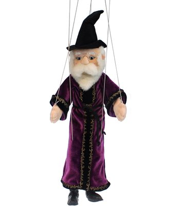 Whimsical Wizard Marionette