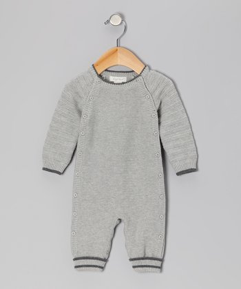 Charcoal Heather Brooklyn Solid Playsuit