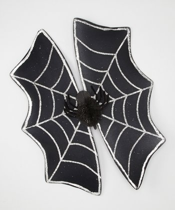 Spider Glitter Costume Wings