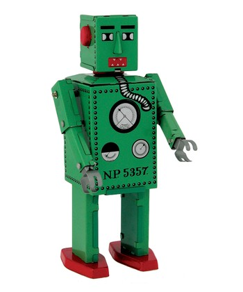 Green Lilliput Robot