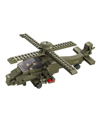 Hind Helicopter Blocks Set
