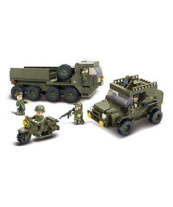 Service Troops Block Set