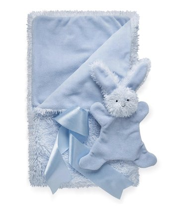 Blue Smushy™ Bunny Blanket