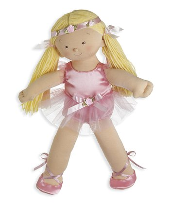 Blonde Rosy Cheeks™ Big Sister Ballerina Doll