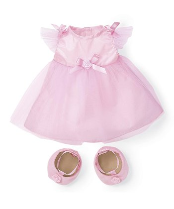 Rosy Cheeks™ Big Sister Party Dress Doll Outfit