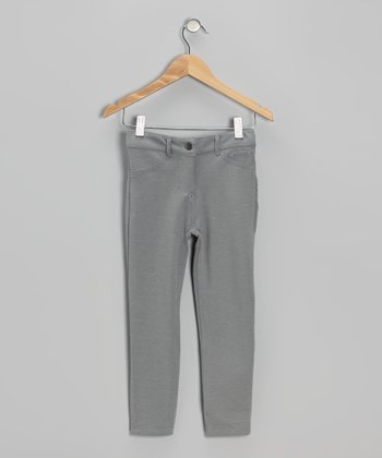 Gray Skinny Pants - Toddler & Girls