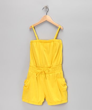 Lemon Light Romper